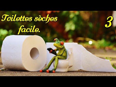 TOILETTES SECHES 3 3. Sans vis. Dry toilets