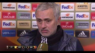Jose Mourinho - Post Match interview