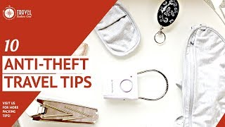 10 Anti-theft Travel Tips