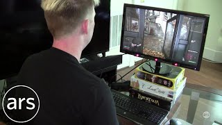 Testing the Tobii eye tracker with Deus Ex: Mankind Divided | Ars Technica