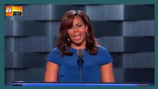 Michelle Obama's DNC discourse for Hillary Clinton as the next President