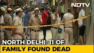 Family Of 11 Found Dead In Delhi Home, Blindfolded And Hanging