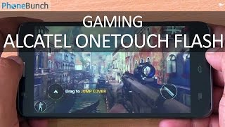 Alcatel Onetouch Flash Gaming Review