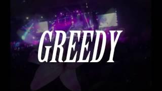 Greedy - Ariana Grande (LYRICS) BEST Live
