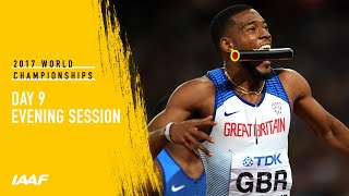 IAAF World Championships London 2017 Live Stream - Day 9 - Evening Session