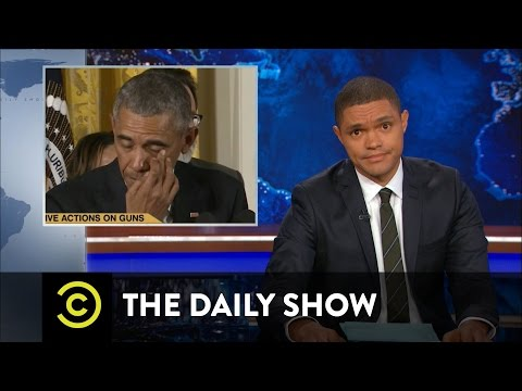 President Obama Targets Gun Violence The Daily Show