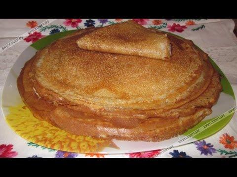 Рецепт блинчиков на молоке пошагово с фото