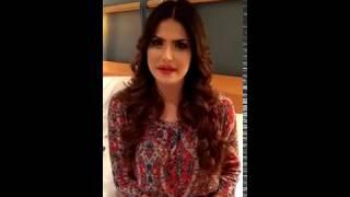 East india mega star 2016 zarine khan
