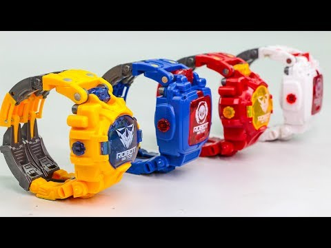 Xxx Mp4 Transformers KO Robot Watch Optimus Prime Bumblebee Watch Transforming Robots Toys 3gp Sex