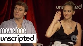 Jennifer Lawrence LOVES Pizza | Unscripted | Moviefone
