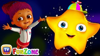 Twinkle Twinkle Little Star - Nursery Rhymes Songs for Children | ChuChu TV Funzone 3D for Kids
