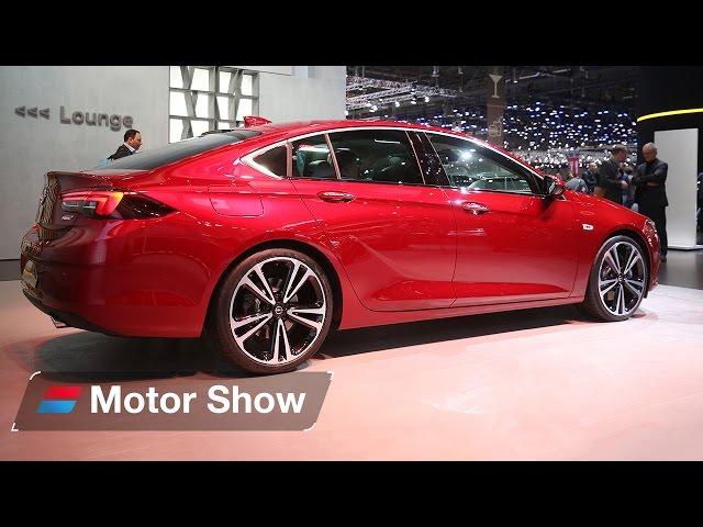 New Vauxhall Insignia Grand Sport - Geneva Motor Show 2017