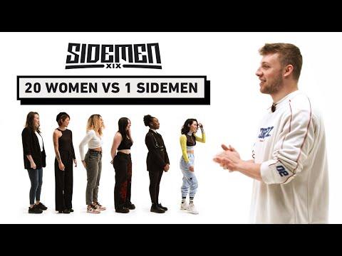 20 WOMEN VS 1 SIDEMEN HARRY EDITION