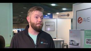 Ryan McManus talks about new technology at Detroit Auto Show