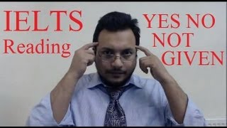IELTS Reading Practice Test Solved Yes No Not Given True False Tips SYED