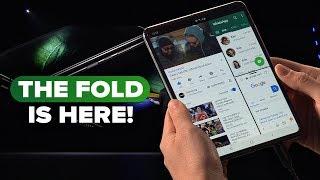 Galaxy Fold: Watch Samsung unveil the foldable phone