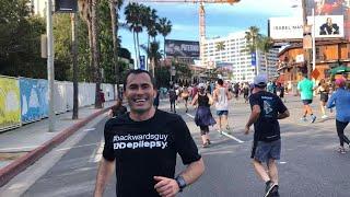 Why This Man Is Running Marathons Backwards