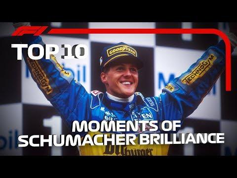 Top 10 Moments of Schumacher Brilliance