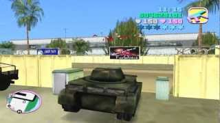 The Rhino Tank - Steal it like a Man - Keep it Forever GTA VC