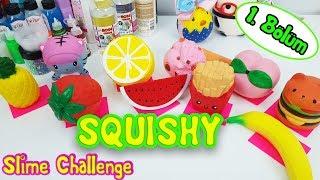 YENİ Squishy - Slime Challenge - Hangi Squishy Keseceğiz - Lightinthebox 1. Bölüm Vak Vak TV