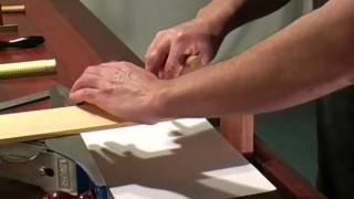 How to Cut Single Lap and Through Dovetail Joints for Fine Furniture Making