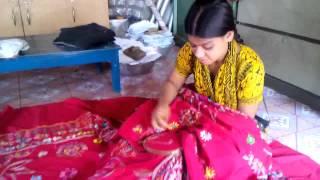 Nakshi_Katha_Sewing(নকশী কাঁথা সেলাই)