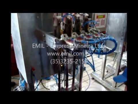 Máquina de envasar geladinho Envase EMIL