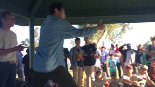 Knick Knack Crew vs. B.E |/ Doin' it in the Park /| FINALS 2v2 Breakin'