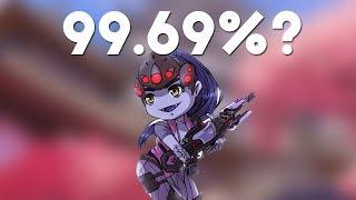 He Got 99.69% Widowmaker Headshot Accuracy - Epic Over Series #14