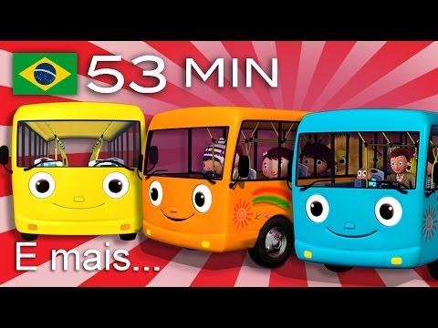 As Rodas do Ônibus E muitas mais Canções de Ninar Compilação com 53 minutos da LittleBabyBum