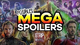 9 Posibles FALSOS SPOILERS de Avengers: Infinity War y Avengers 4.
