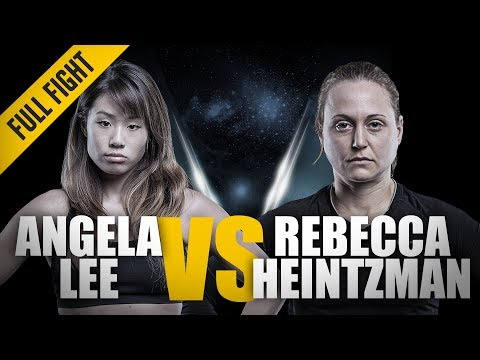 Xxx Mp4 ONE Full Fight Angela Lee Vs Rebecca Heintzman Rozewski Outstanding Submission February 2016 3gp Sex