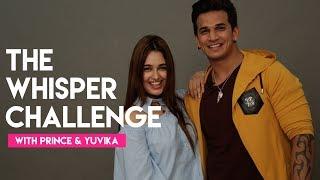 Prince Narula & Yuvika Chaudhary   The Whisper Challenge   MissMalini Interview   Hello Hello