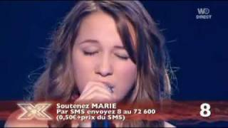 Marie - Without you : X Factor - Emission du 09/11/09.