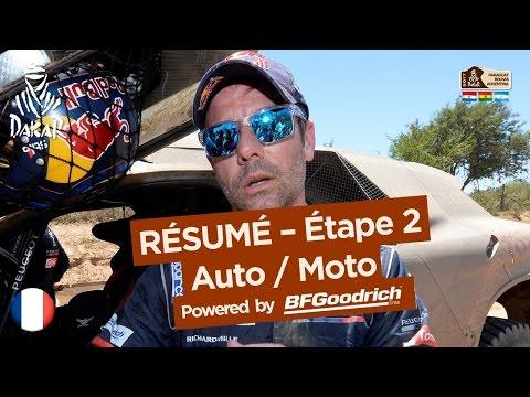 Résumé de l Étape 2 Auto Moto Resistencia San Miguel de Tucumán Dakar 2017