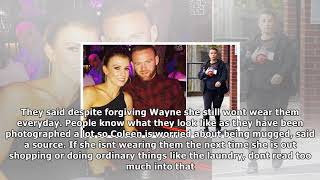 Wayne and coleen are back together! rooneys