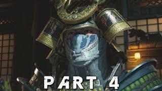 FOR HONOR Samurai Campaign Walkthrough Gameplay Part 4 - Seijuro Boss