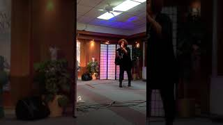 Nancy Jackson Johnson  Gospel Artist sings live