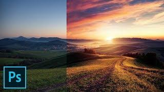 Fake the Sun in Photoshop!