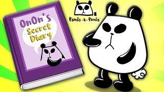Diary Of A Panda | Panda A Panda Cartoons For Children by Kids Tv
