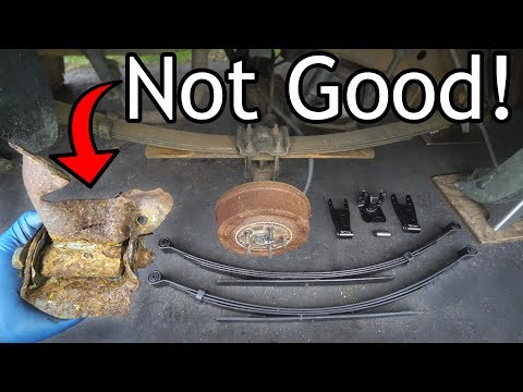 Xxx Mp4 How To Replace Leaf Springs And Lift Your Truck 3gp Sex