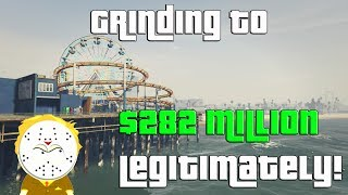 GTA Grinding to $282 Million Legitimately and Helping Subs