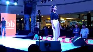 fbb fashion show at gip mall noida ,cheaf guest is Iliya D crouz