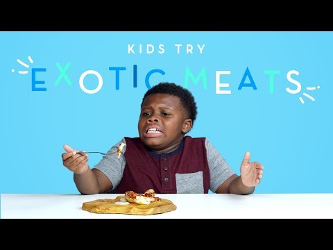 Kids Try Exotic Meats Kids Try HiHo Kids