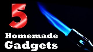 5 Incredible Homemade Gadgets | Life Hacks