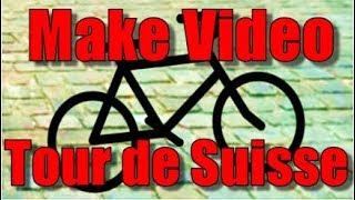 Make a commentated Video about the Tour de Suisse 2017