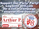 101 WRIF   Arthur P  for President Campaign Video