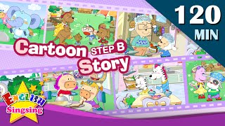 What's that?+More Kids Cartoon story step B | Learn English | Collection of Easy conversation