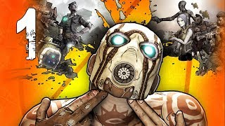 Borderlands 2 Co-Op Walkthrough w/ Ally - Part 1 (Playthrough, Let's Play)