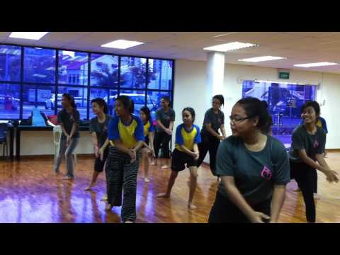 Woodlands Secondary School Malay Dance at Apsara Asia song Dholi Taro Dhol Baaje